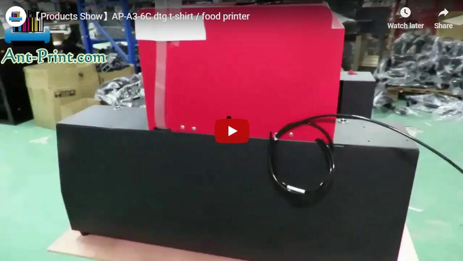AP-A3-6C t-shirt printer video show