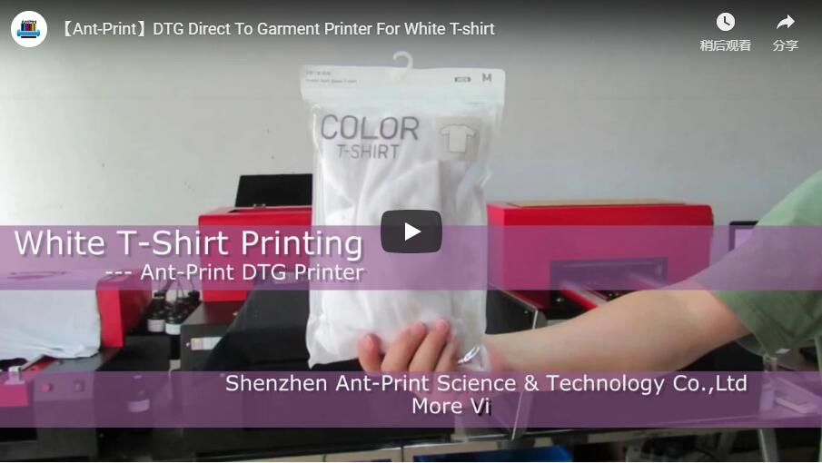 dtg printer for white t-shirt