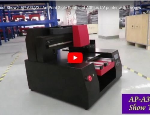 AP-A3X dtg printer Video Show