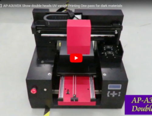 AP-A3DX double heads t-shirt printer Video Show